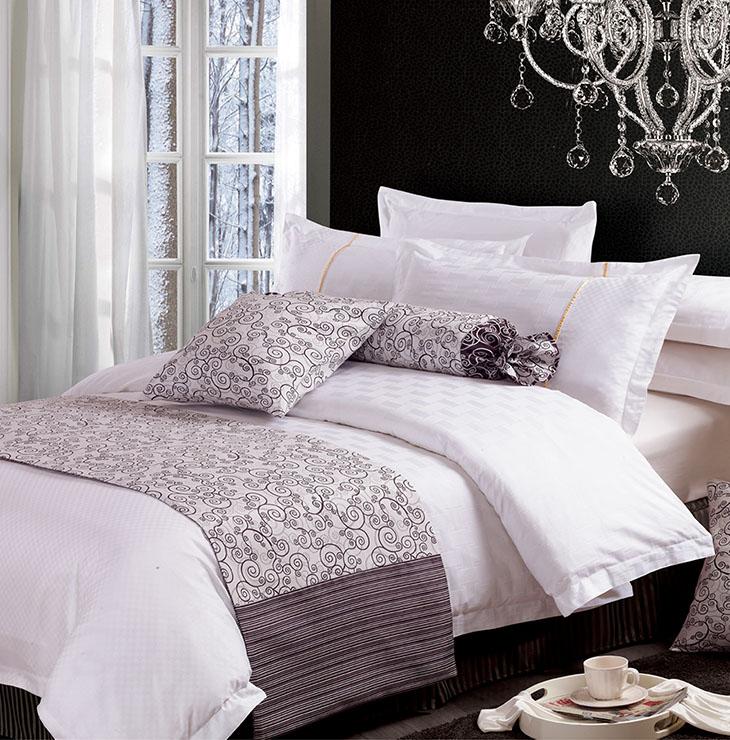 酒店床上用品为什么不用家庭床上用品?